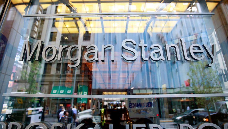 Morgan-Stanley-Zentrale in New York: Beratung vom Deutschland-Chef
