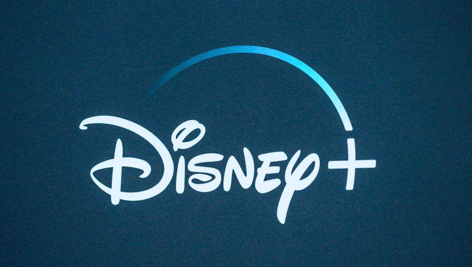 Logo von Disney+