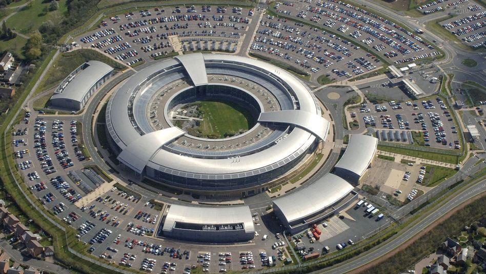Luftaufnahme des GCHQ-Hauptquartiers: Datenauswertung für illegal erklärt