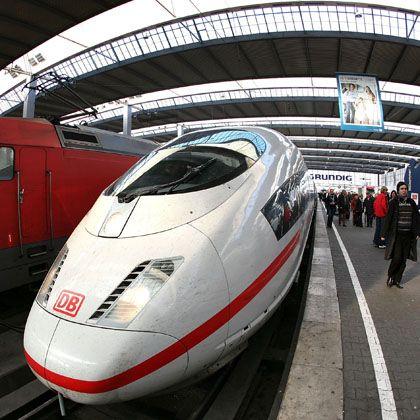 ICE-Zug in München: Infrastruktur bleibt im Besitz des Bundes