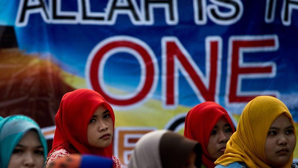 Muslimische Aktivistinnen in Malaysia: Jubel über das Urteil