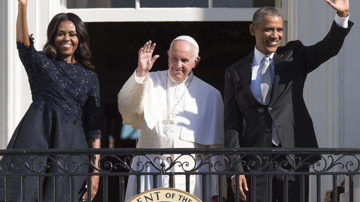 Treffen in Washington: Obama und der Papst