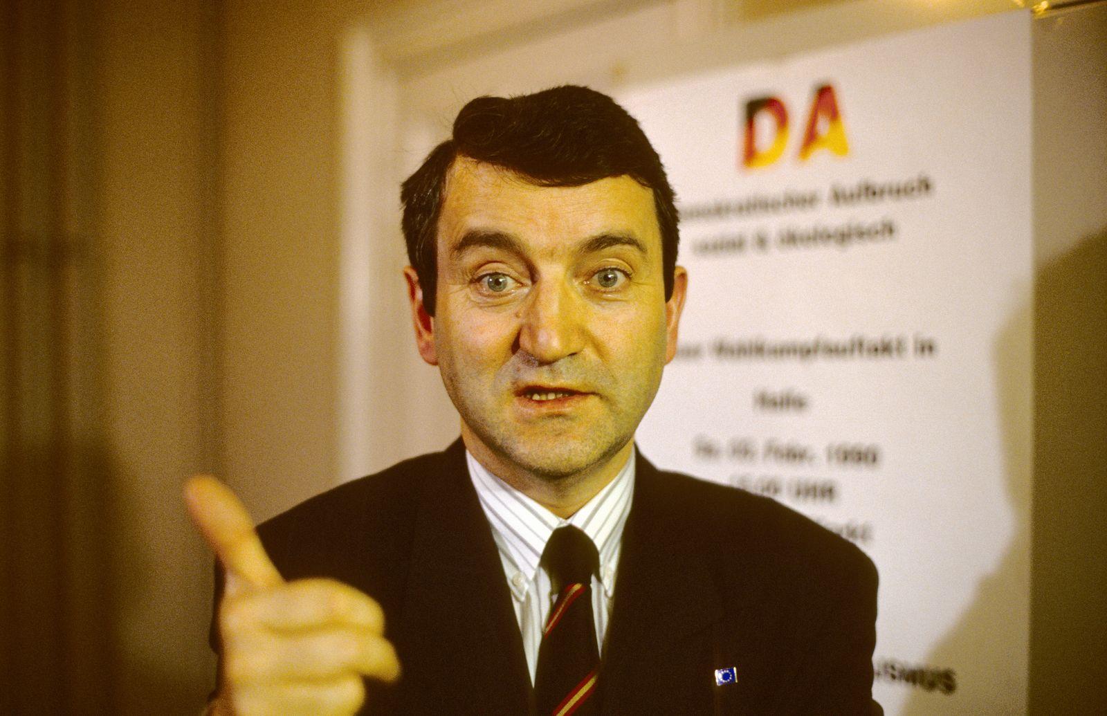 Volkskammerwahl 1990 - Neue Partein im DDR Wahlkampf