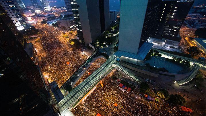 Proteste gegen Leung Chun Ying: Machtkampf um Hongkong