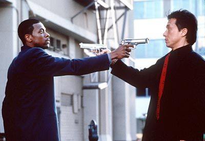 "Chan-Erfolg ""Rush Hour"" (1998) mit Chris Tucker: Übernahme des Buddy-Prinzips"