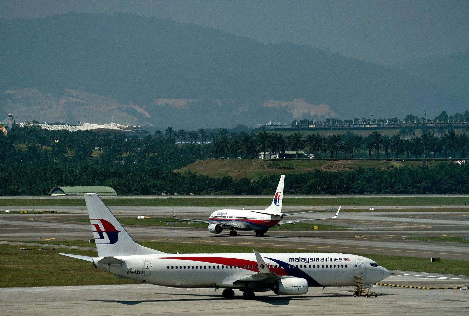 Malaysia Airlines Maschinen