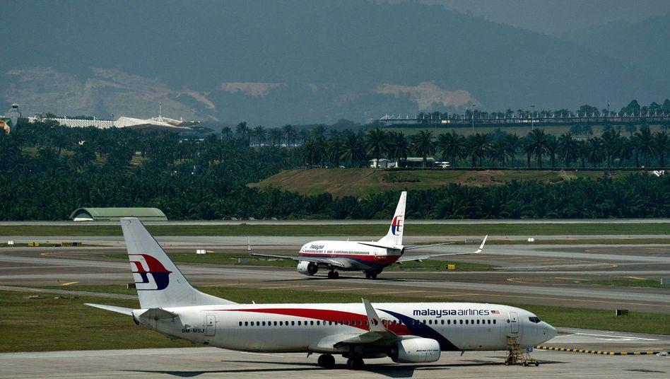 Malaysia-Airlines-Maschinen in Kuala Lumpur: Neue Flugrouten gesucht