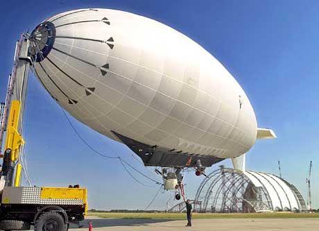 """Experimental-Luftschiff """"Joey"""": Nach sechs Jahren noch keine Prototypen für das geplante Prestigeprojekt"""