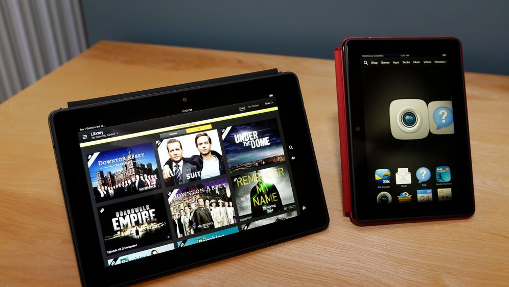 Amazon Kindle HDX: Das Tablet mit dem Mayday-Knopf