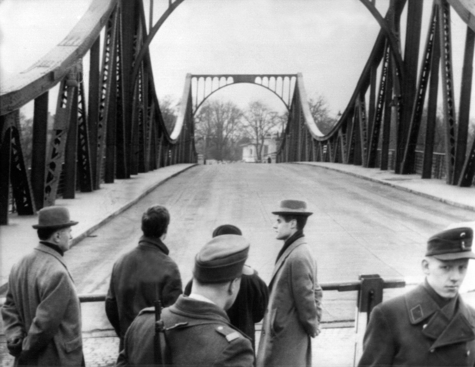 Agentenaustausch Glienicker Brücke 1962