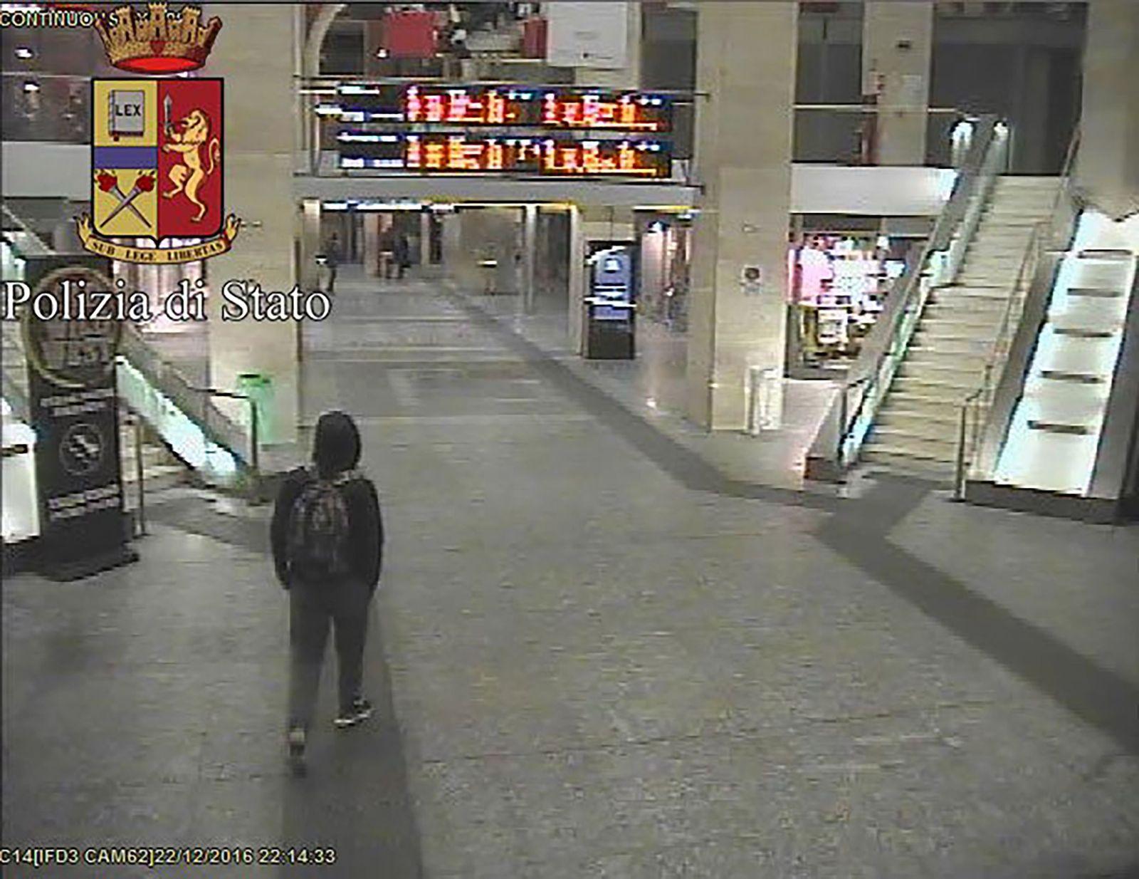 Anis Amri Turin Bahnhof