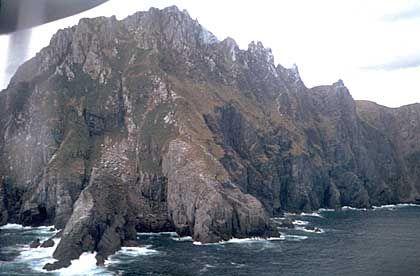 Kap Hoorn: Der graue Felsenklotz ist das von Seefahrern gefürchtete Ende der Welt