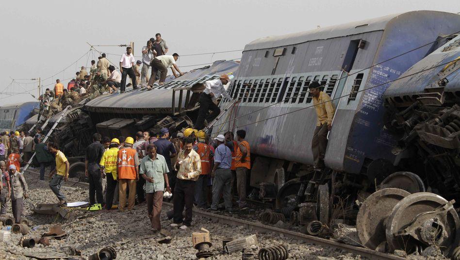 Anschläge der Maoisten: Indien verzweifelt am Schienen-Terror