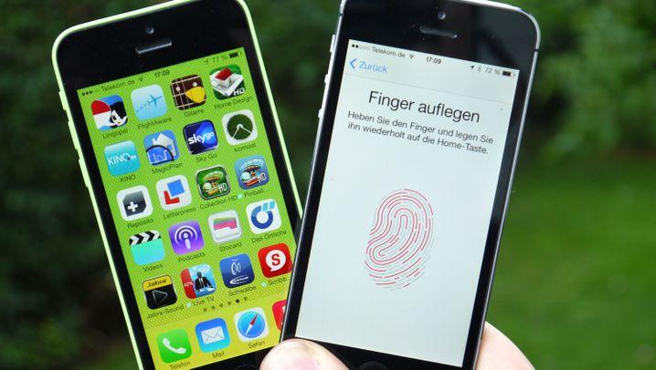 iPhone 5s und 5c im Test: Mit Scanner und viel Farbe