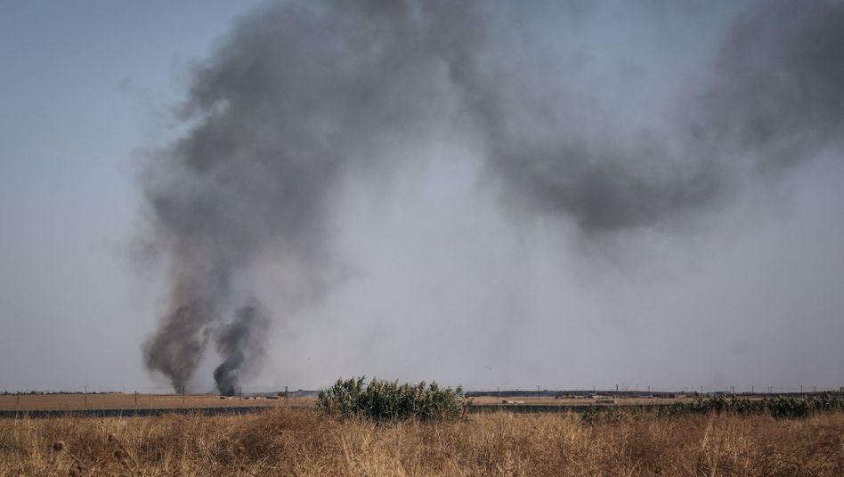 Kämpfe an der türkisch-syrischen Grenze