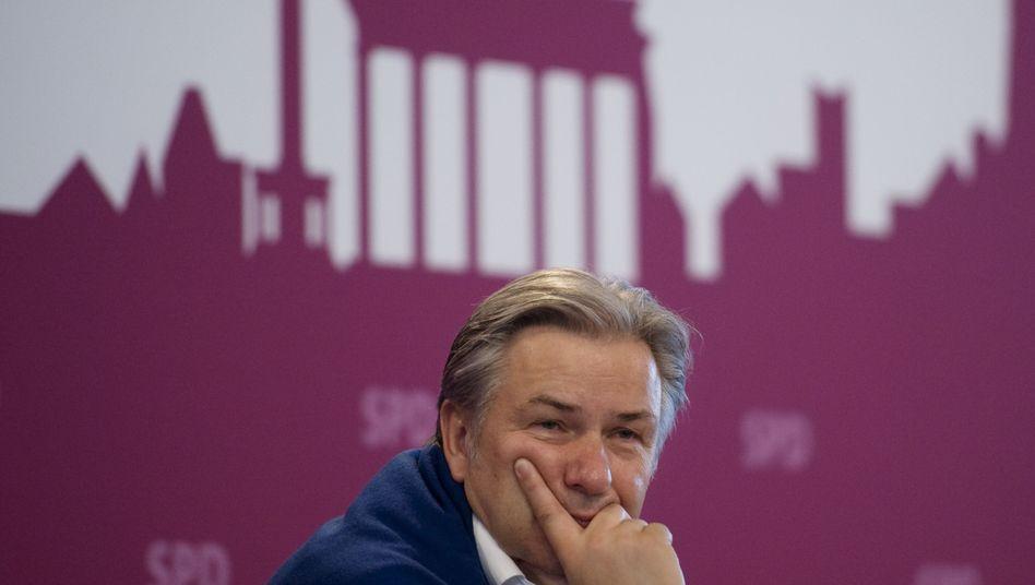Berlins Regierender Bürgermeister Wowereit: Im Krisenmanagement versagt