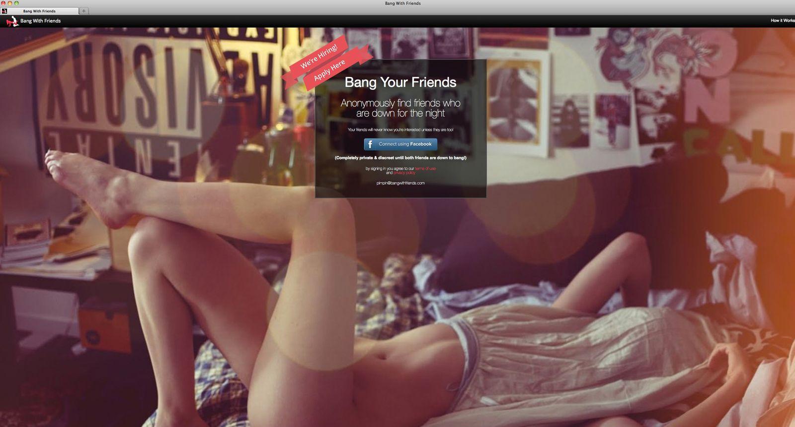 NUR ALS ZITAT Screenshot/ Bang Your Friends