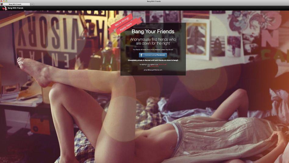 """Facebook-App """"Bang With Friends"""": Zwei Stunden Programmierarbeit, kein Datenschutz, kein Jugendschutz"""