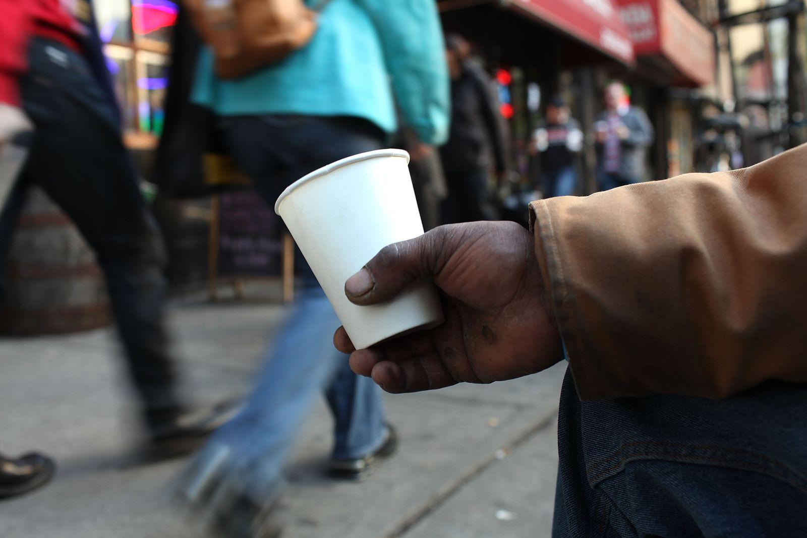 Obdachloser / New York