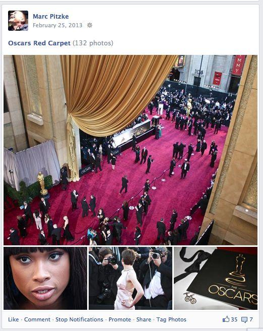 Oscar-Verleihung: Kollege Pitzke überm roten Teppich