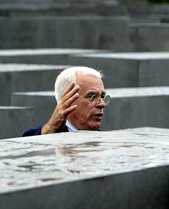 Peter Eisenman's Memorial to the Murdered Jews of Europe will be officially opened on Tuesday.