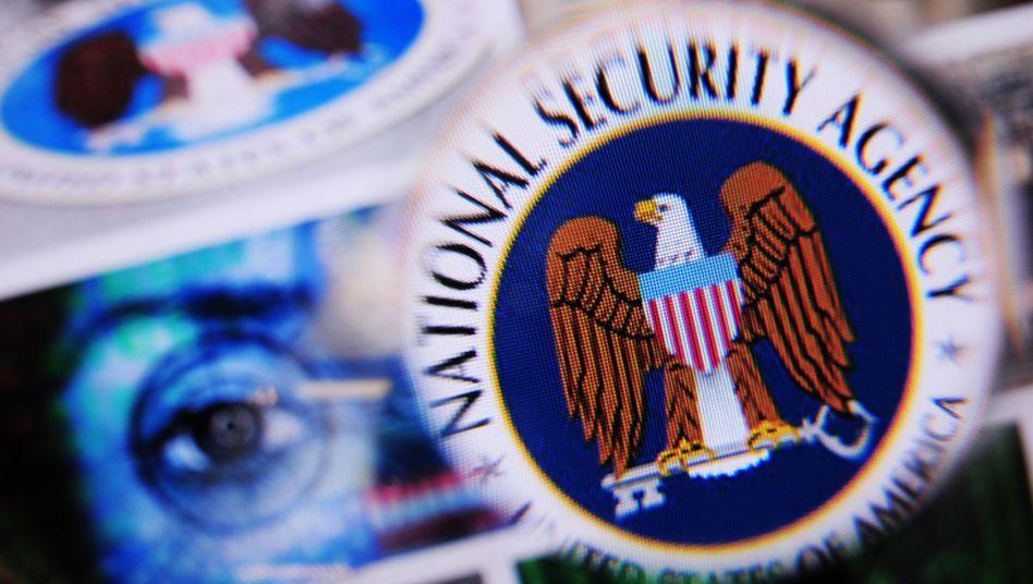 Logo des US-Geheimdienstes National Security Agency (NSA)