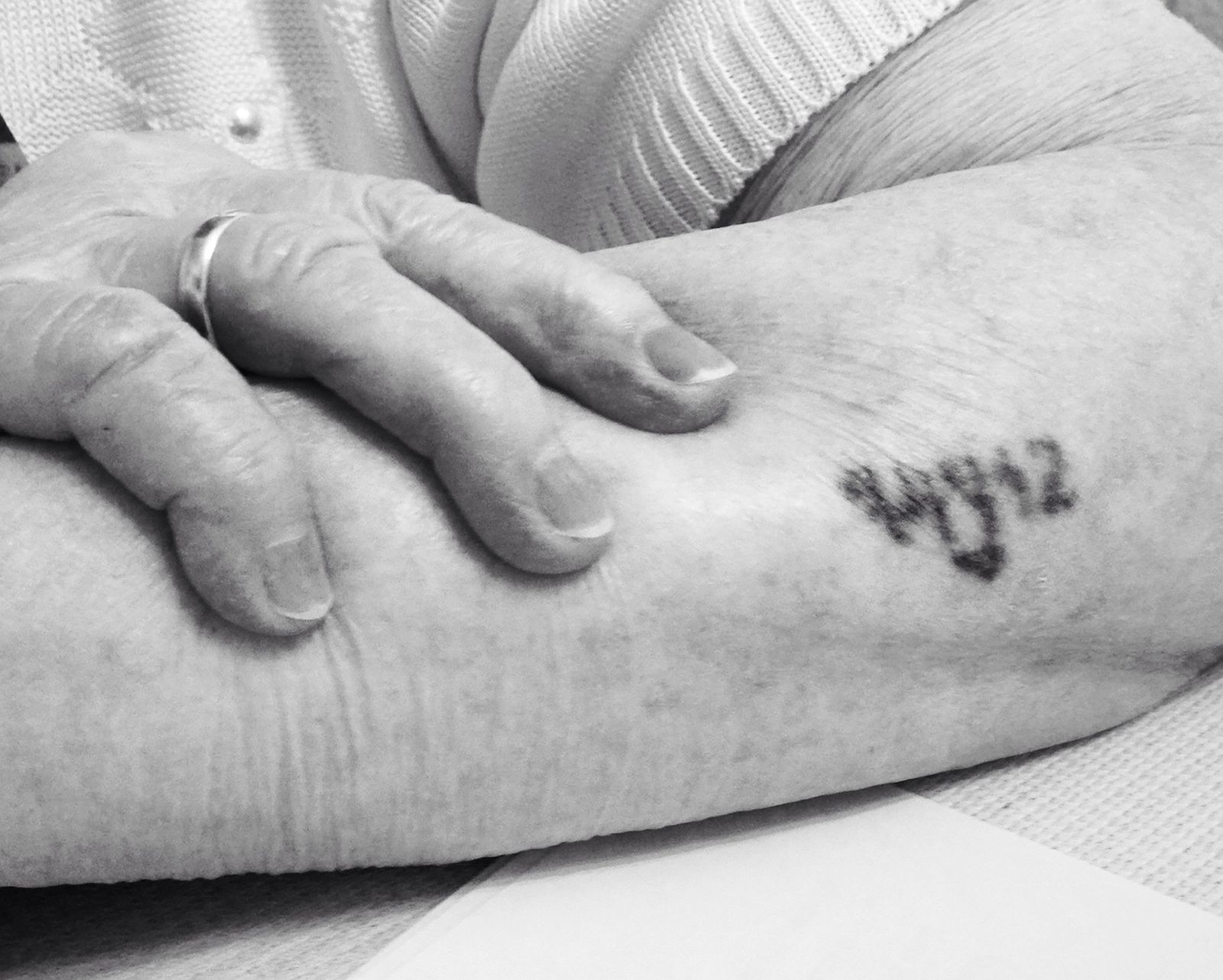 Auschwitzüberlebende Frieda F