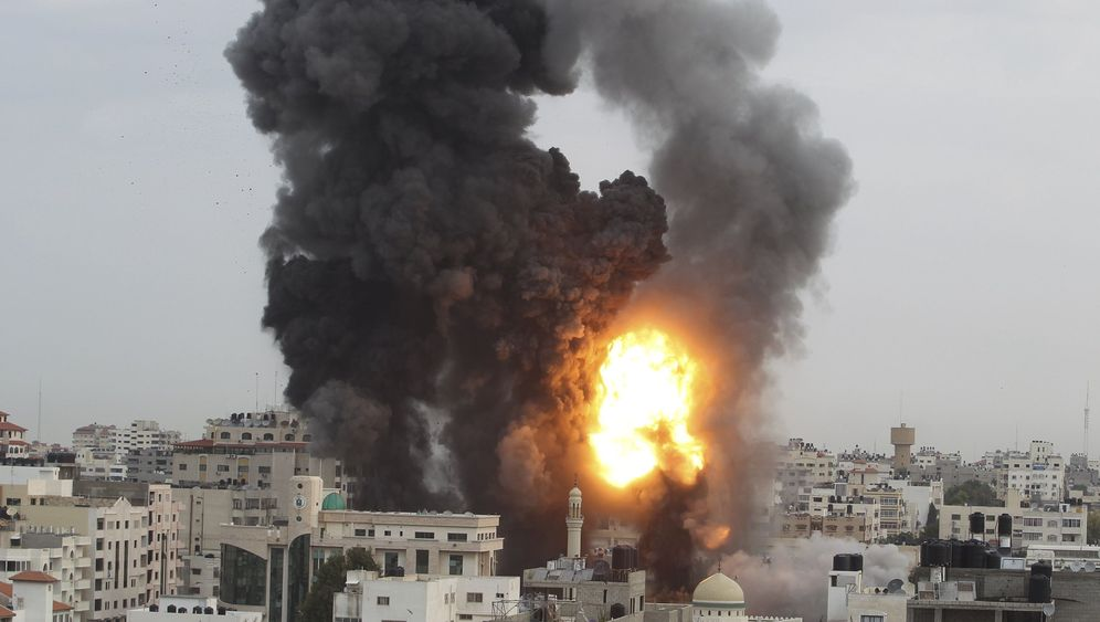 Eskalation in Nahost: Luftangriff auf Hamas-Zentrale