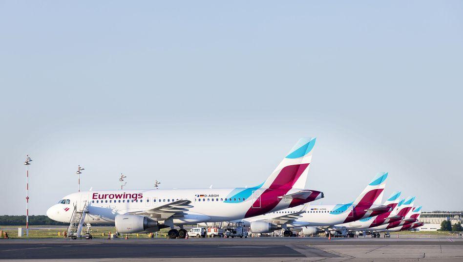 Eurowings-Flotte