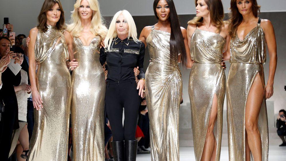 Modewoche in Mailand: Stelldichein der Neunziger-Ikonen