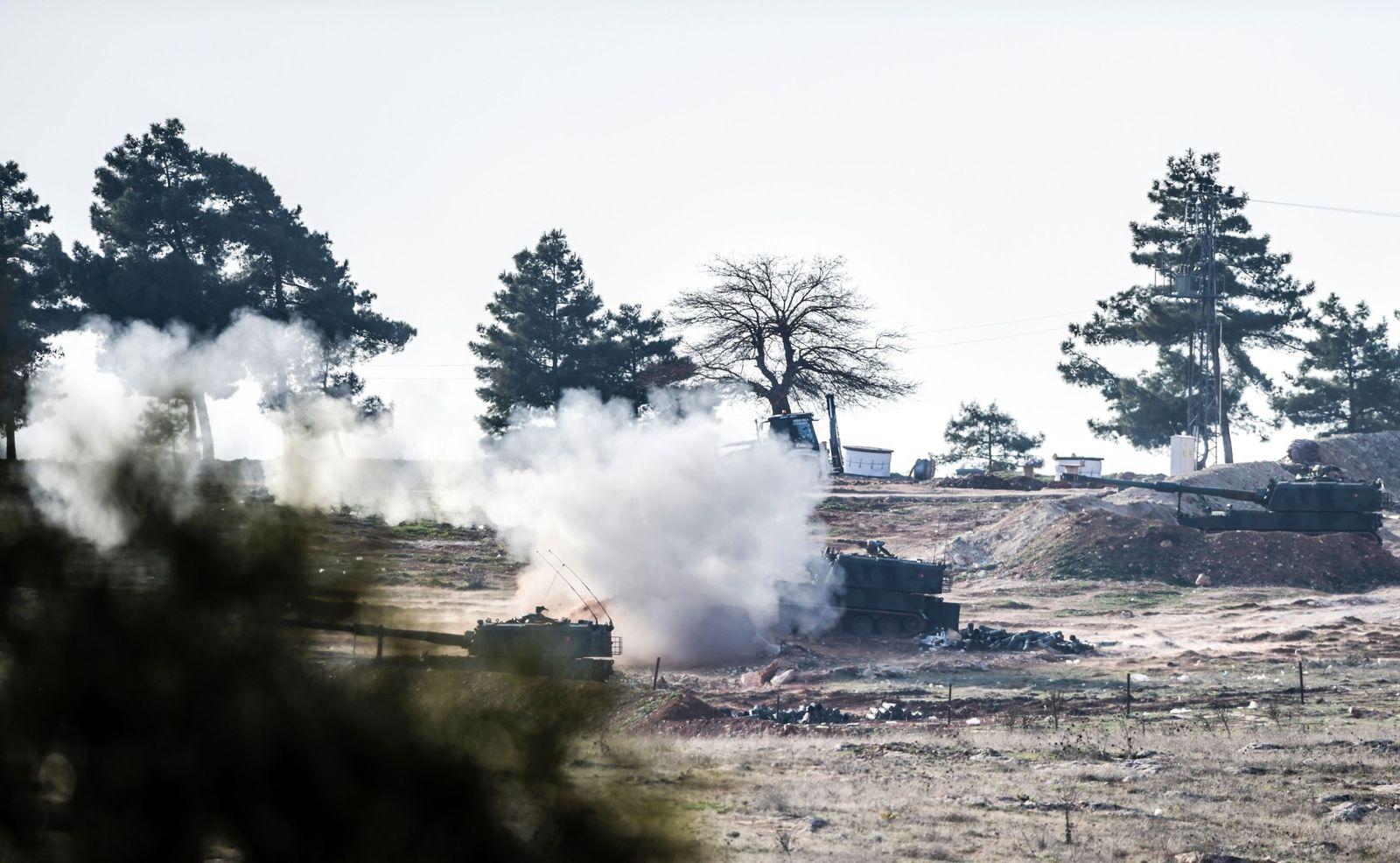 Syrien Türkei Panzer Asas