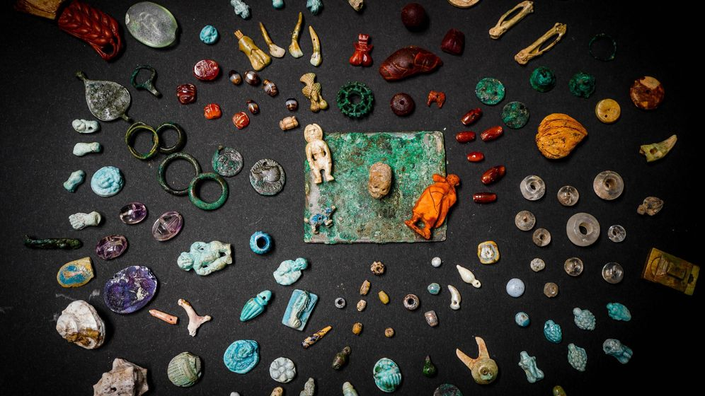 Pompeji: Schatztruhe mit antiken Glücksbringern entdeckt