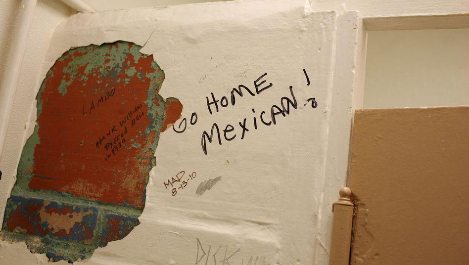 Rassistisches Graffito
