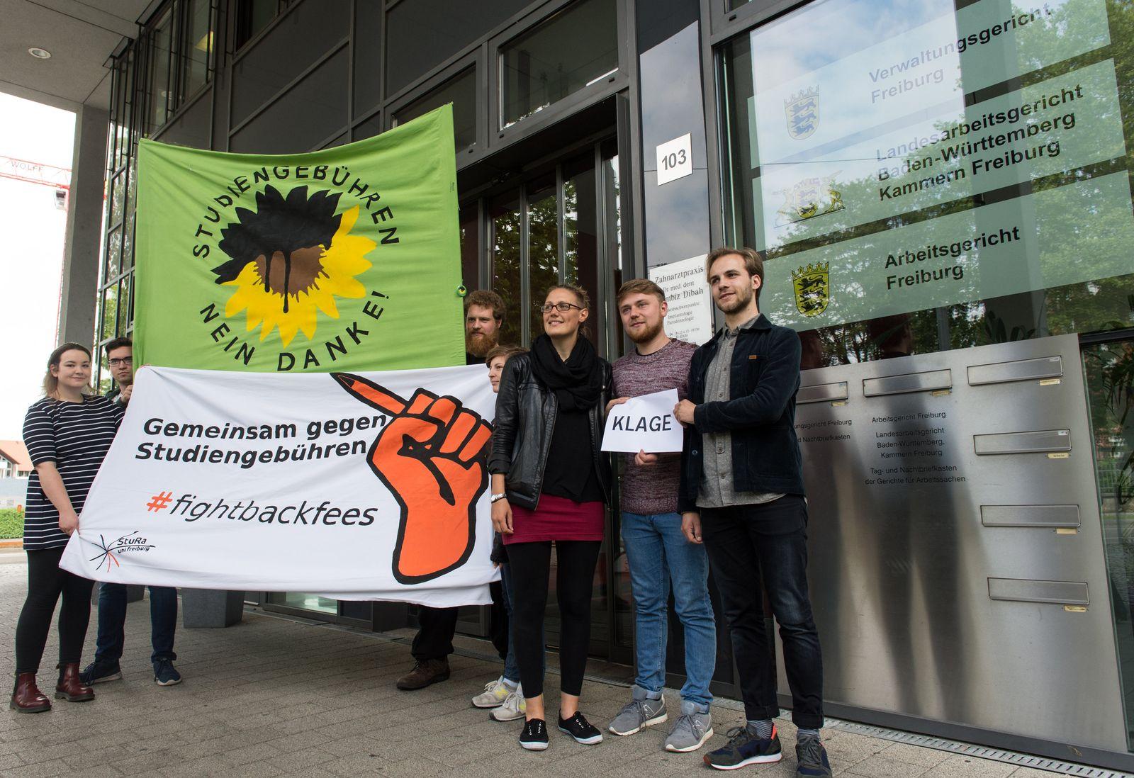Klage gegen Studiengebühren in Freiburg