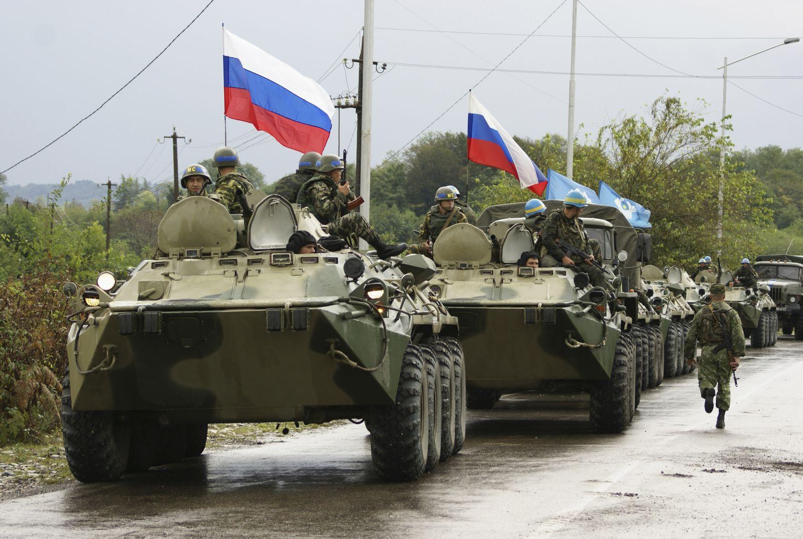 Georgien / Russische Soldaten