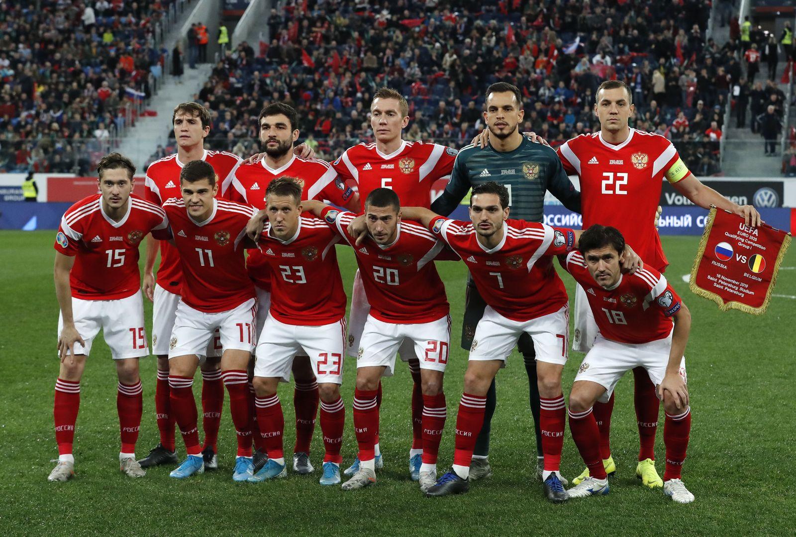 Russland Fußball EM-Quali