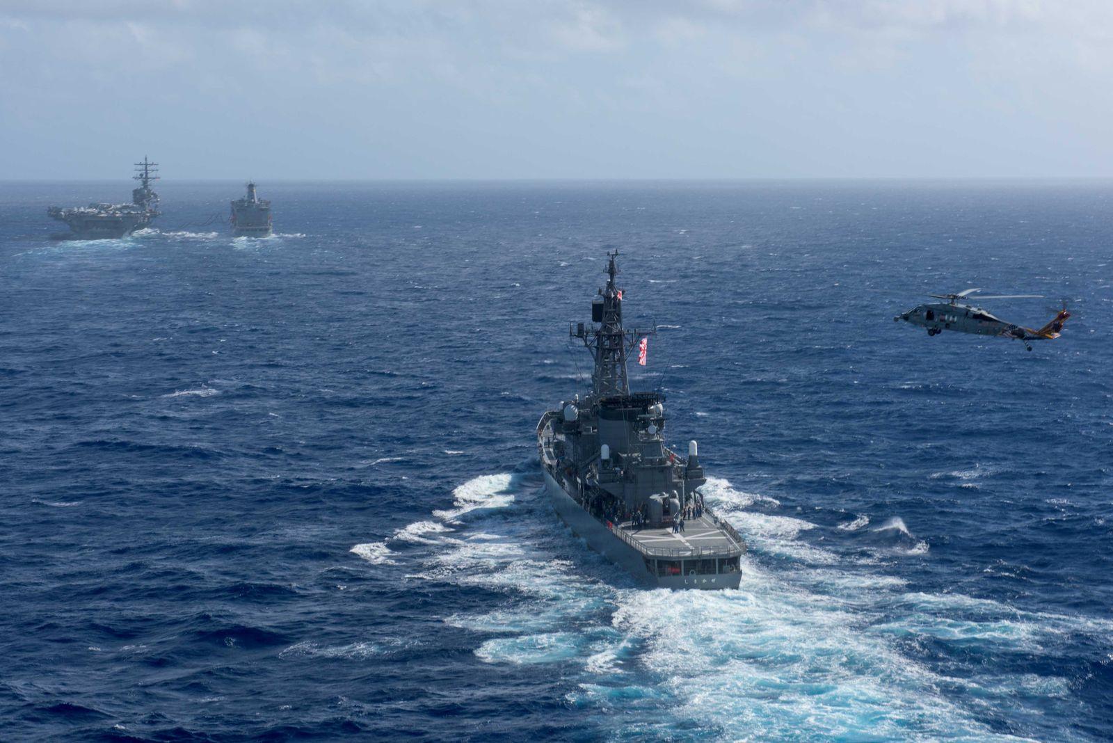 Nordkorea/ Seemanöver