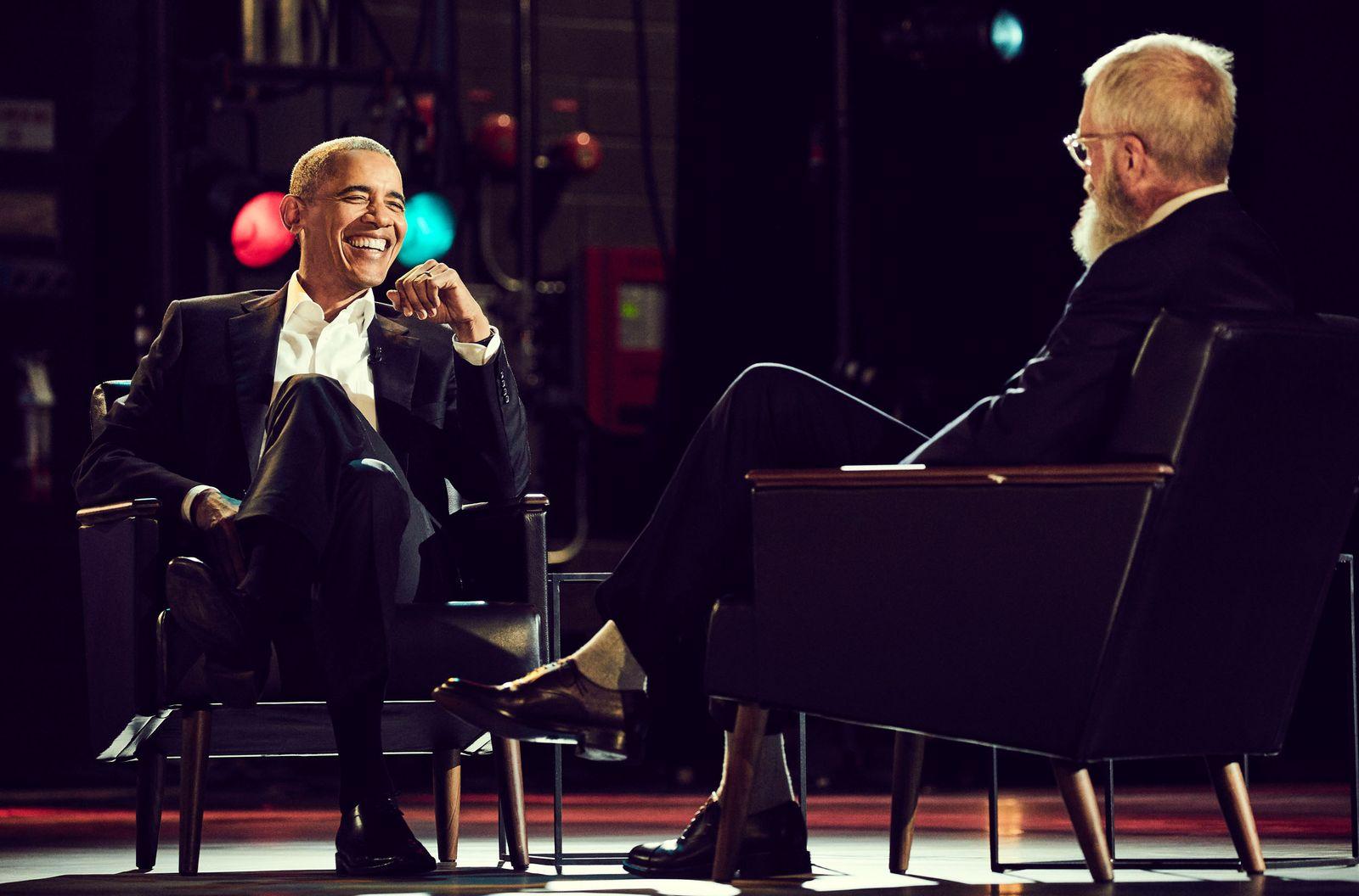 EINMALIGE VERWENDUNG TV/ David Letterman/ Netflix