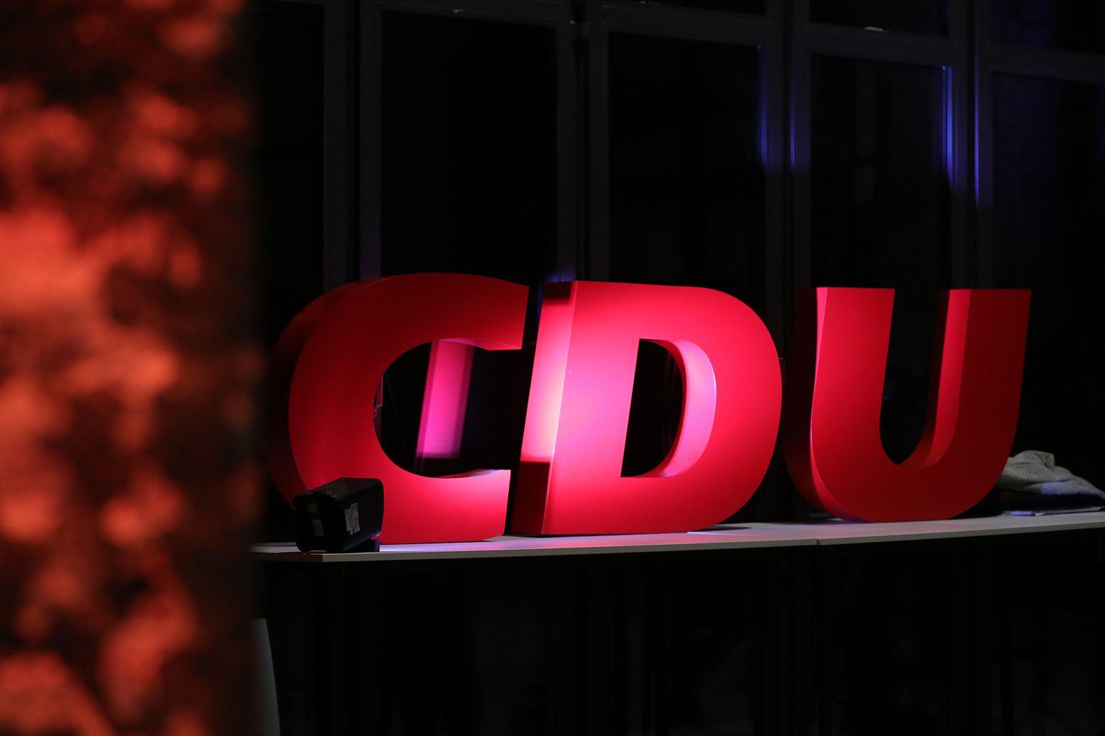 EINMALIGE VERWENDUNG CDU
