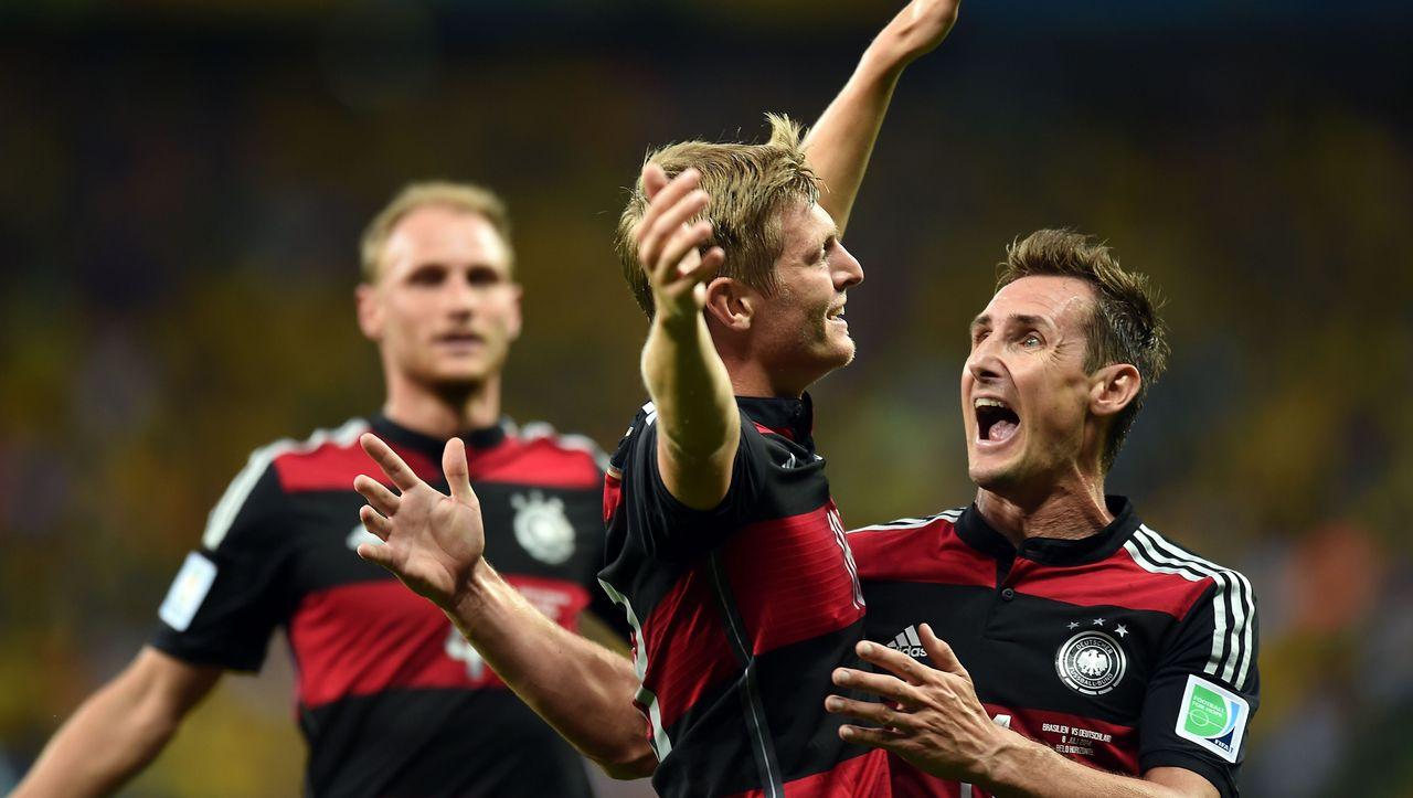 German Soccer Team Stays Focused Despite Epic Win Against Brazil