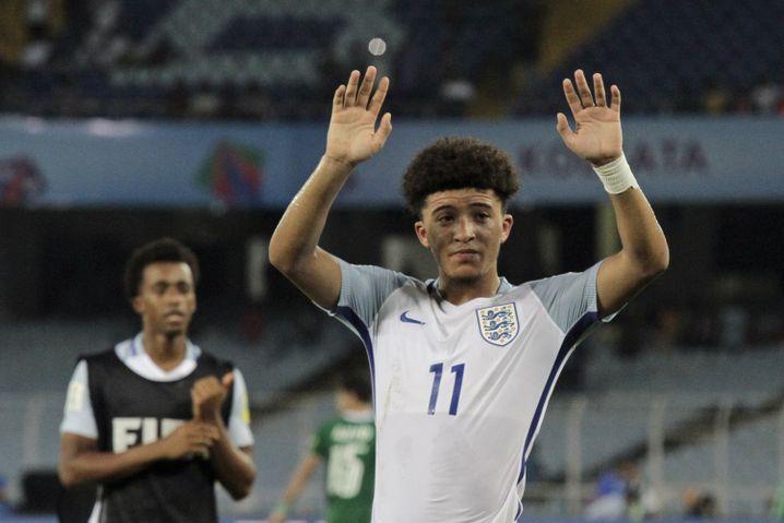 Englands Jadon Sancho - Supertalent vom BVB