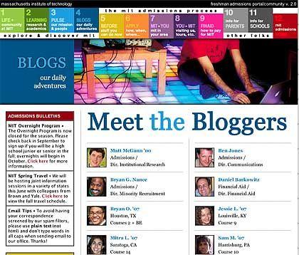 Blogger am MIT: Einblicke ins Campus-Leben