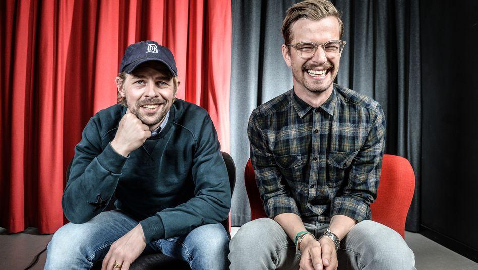 Moderatoren Heufer-Umlauf, Winterscheidt:Mittel des Proll- und Krawallfernsehens
