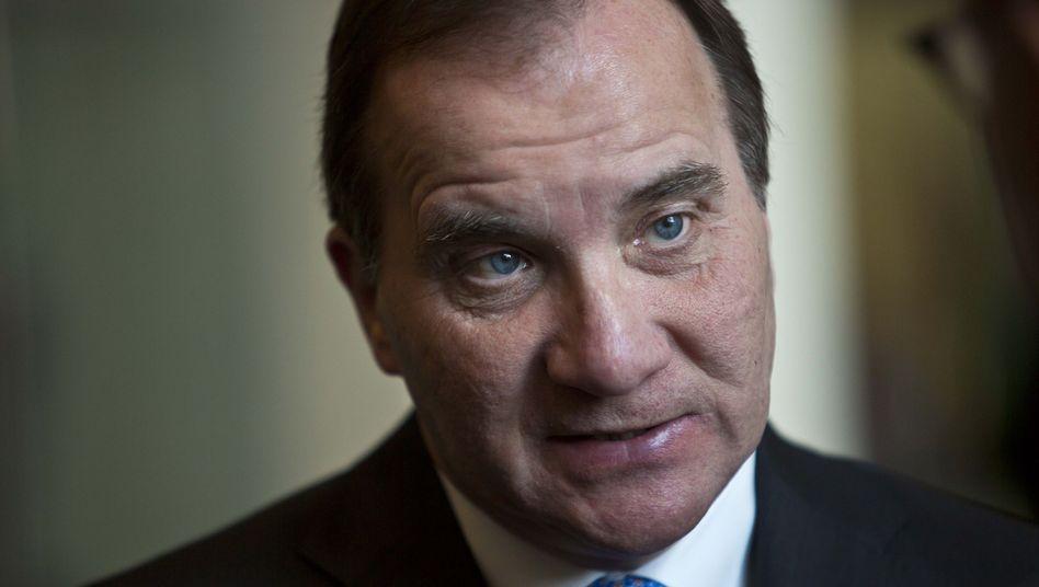 Premier Stefan Löfven: Nicht bereit, den Haushalt eines anderen zu verwalten.
