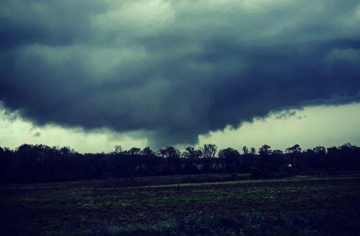 Tornado in Dothan, Alabama