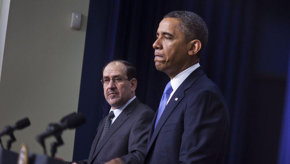 """Barack Obama bei einer Pressekonferenz am Montag: """"Wir werden sehen, wie Iran reagiert"""""""