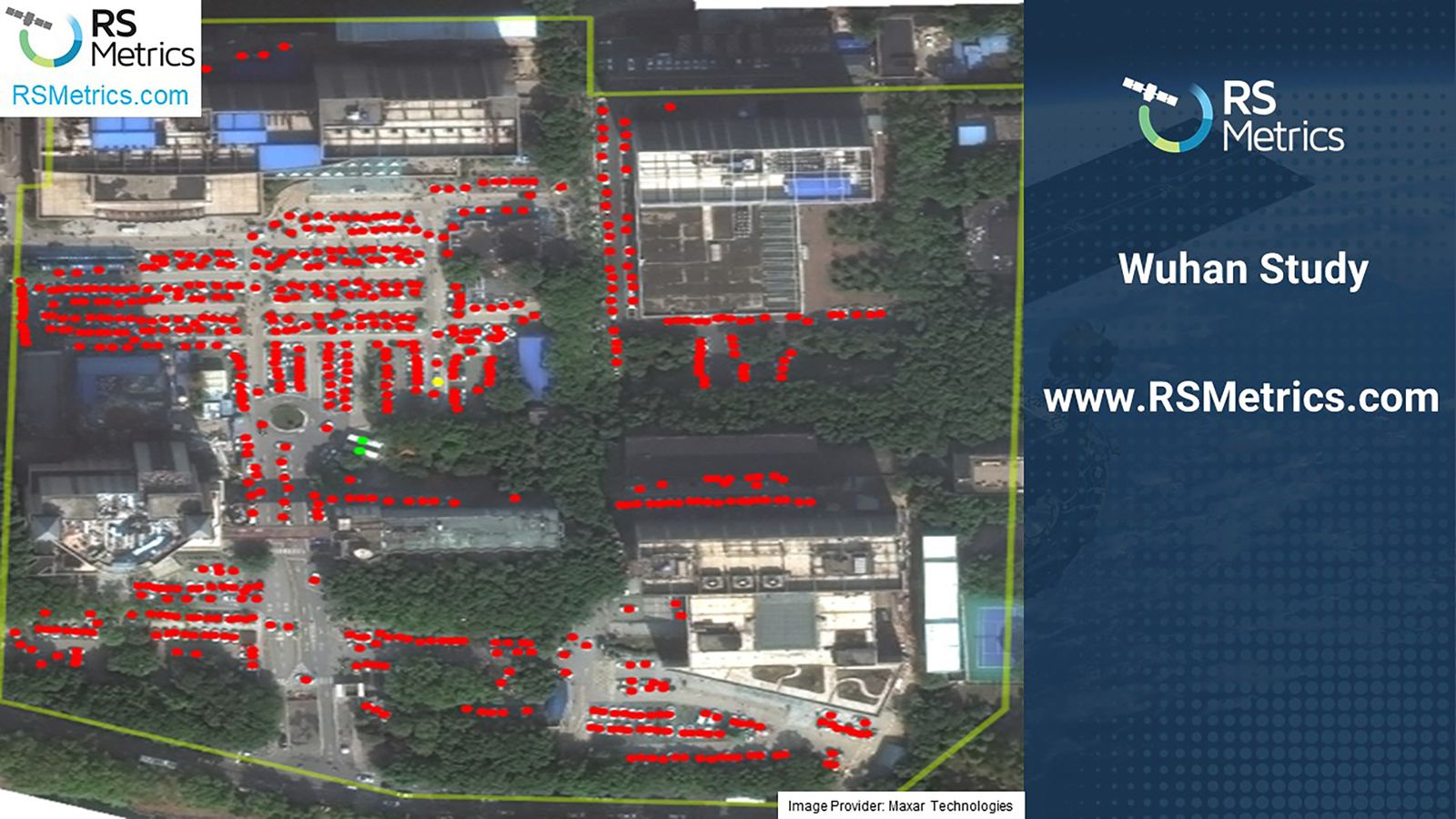 Wuhan Study Satellite - images from Zhongnan Hospital of Wuhan University 17.102019