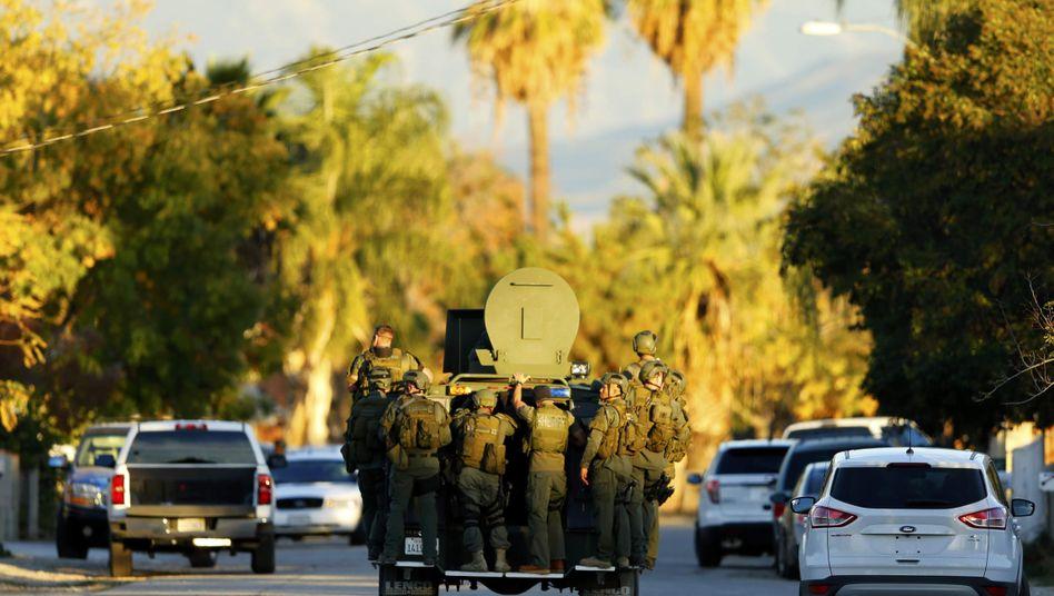 Polizeieinsatz in San Bernardino: Wie kamen die Schützen an ihre Waffen?
