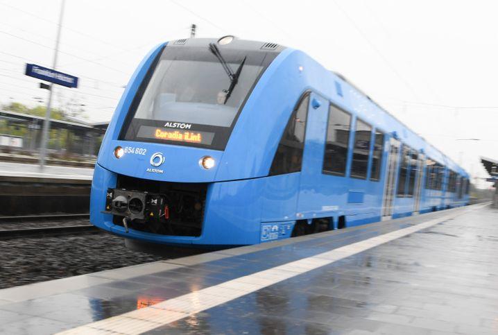 Wasserstoffzug des französischen Herstellers Alstom