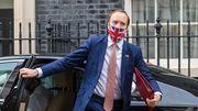 Britischer Gesundheitsminister Hancock tritt zurück